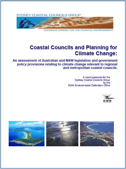 Coastal Councils and Planning for Climate Change