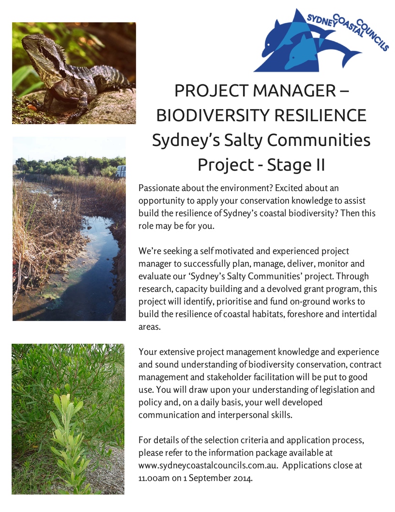 Project Manager - Biodiversity