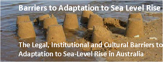 Barriers to Adaptation to Sea Level Rise