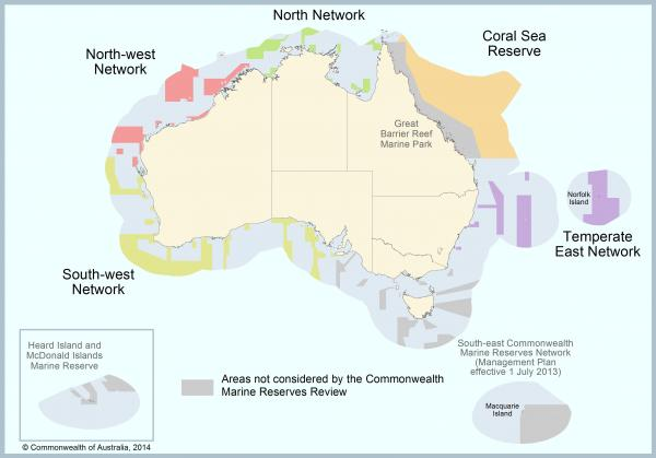 Commonwealth Marine Reserves